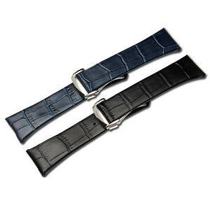 Quality Genuine Leather Watch Band Strap For Omega Constellation Double Eagle