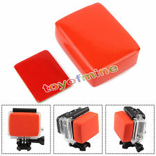 Floaty Float Box Sponge + 3M Adhesive Tape Sticker for GoPro Hero 4 3 2 Backdoor