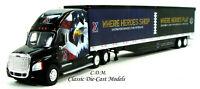 Cascadia Sleeper Tractor w/53' Trailer AAFES Exchange 1/87 HO Scale TNS-93127