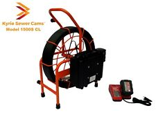 150 ft battery powered sewer camera with 512hz sonde