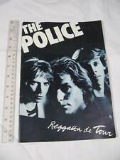 The Police 1979 Reggatta De Blanc Tour Vintage Concert Program Sting collectible