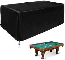 Cubierta de mesa de billar Tela de poliéster Snooker Billar 113x61x32in