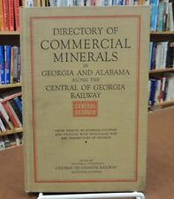 Directory Commercial Minerals Georgia Alabama Central Georgia Railway Hardcover