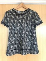 Oasis Ladies Blouse Top 10 Ditsy Floral Summer Smart Casual Work New Tags £30