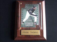 FRANK THOMAS #35 CHICAGO WHITE SOX MLB ENGRAVED WALL PLAQUE 1997 TITANIUM CARD