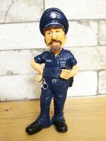 Koch Master Chef // Polizist RUSS Gnom Troll Zwerg Zaubertroll Figur 18 cm