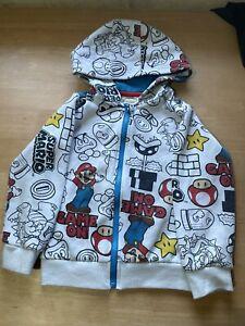 Official Nintendo Super Mario Hoodie Age 3-4