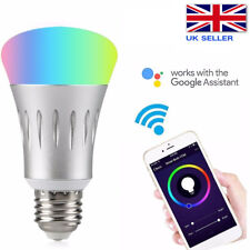 E27 Smart LED Light Bulb Alexa Google Home Wifi Amazon Echo App Remote Control