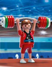 BNIB Playmobil 5199 OLYMPICS Weightlifter