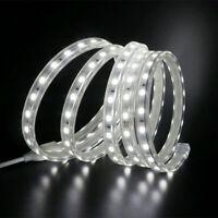 LED-Streifen 220V 240V 5050 SMD Wasserdichtes Klebeband Lichter Seil Weiß NEU