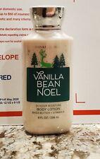 Bath & Body Works Body Lotion Vanilla Bean Noel Shea Butter +E Full Size 8 fl oz