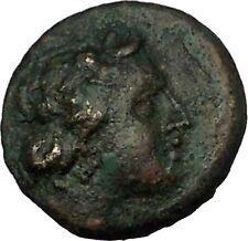 KORKYRA island of Corfu in EPEIROS 229BC Dionysus Kantharos Greek Coin i53744