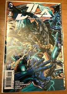Justice League of America #1:Bryan Hitch 7-Panel, Fold-Out Variant Cover.