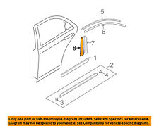 MAZDA OEM 03-08 6 Exterior-Rear-Black Out Tape Right GK2A508V4A