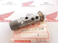 HONDA CX 650 BOLT OIL FILTRO Center GENUINE NEW