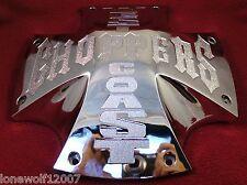 Jesse James West Coast Choppers Wheels Chrome Custom Wheel Center Cap # JJ-50