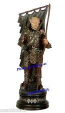 Figurine en plomb Seigneur des Anneaux GOTHMOG le chef ORC Lord of Rings figure