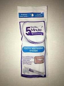 Natural White 5-Minute Teeth Whitening Gel with Mouth Tray