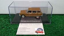 CITROEN  AMI 6 CLUB BREAK 1968 au 1/43 NOREV 153520 voiture miniature collection