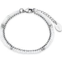 s.Oliver 2018342 Damen Armband Edelstahl poliert mit Steinen neu