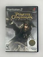 Pirates of the Caribbean: At World's End - Playstation 2 PS2 Game - Tested
