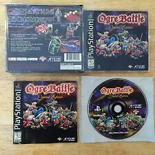 Ogre Battle: Limited Edition Sony Playstation 1 2 System Complete ATLUS Game