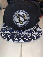 NWOT Pittsburgh Penguins New Era Throwback Snapback Scarf Hat