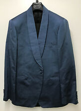 "Paul Smith Evening Suit BLUE SILK ""LONDON ABBEY"" Slim Fit UK42R RRP £1160"