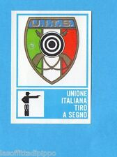 CAMPIONI dello SPORT 1973/74-Figurina n.368- TIRO A SEGNO - SCUDETTO -Rec