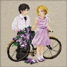 RIOLIS  1237  COUNTED  CROSS STITCH  KIT - SPRING WALK