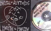 Mental as Anything- Mouth to Mouth- EPIC 1987- Made in Austria WIE NEU