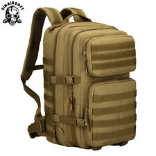 45L Molle Military Tactical Camping Hiking Bag Trekking Backpack Rucksack Travel