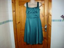 Ladies emerald green skater dress by Heart and Soul size 12UK tulle vgc v