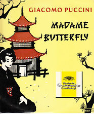 """Madame Butterfly-Giacomo Puccini-[Made In Australia]-10"""" Record LP"""
