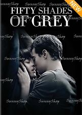 Fifty Shades of Grey 50 Dakota Johnson Jamie Dornan Romance Erotic DVD Movie