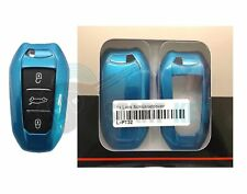 Peugeot Citroen Schlüssel Hülle 508 5008 4008 DS4 DS5 Hülle Key chiave cle Blau