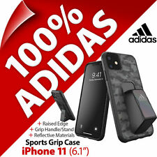 """Adidas Sports Grip Case Cover Protective Stand Grip for Apple iPhone 11 (6.1"""")"""