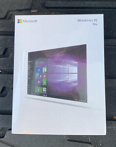 Microsoft Windows 10 Pro 32/64 Bit Flash Drive (FQC08789) New Sealed In Plastic