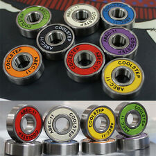 Coolstep 8pcs Cr Mo Steel Abec-11 608Zb Skateboard Longboard Bearing High Speed