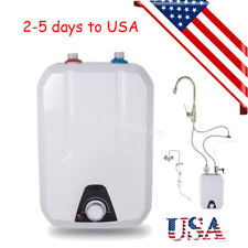 Portable Electric Instant Hot Water Heater 55℃-- 75℃ Bathroom Kitchen Washing 8L