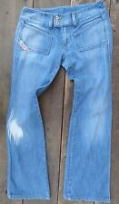 ** DIESEL JEANS **  ' Hush ' Ex Cond Cute Faded Blue Wash Size 27