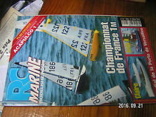 1µ?§ Revue RC Marine n°123 Plan encarté Acapulco 1 / Antje II Victor III