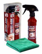 SUPER MET-AL REPEL-AIDE Bathroom Mirror Anti-Fog Spray 12oz Kit