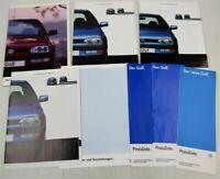 4 Prospekte VW Golf III + Preislisten +Technische Daten und Ausstattung 90er