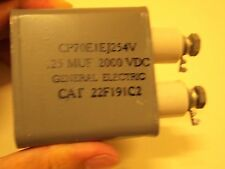 GE 0.25uF 2000v paper oil capacitor for Western Electric 300B 845 tube amplifier