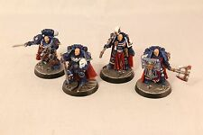 Warhammer Space Marine Finecast Ultramarine Chapter Masters Well Painted