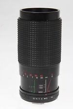 HANIMEX SP-MC 4,5/80-200mm macro con Pentax Baionetta K #904714