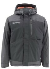 Simms Challenger Insulated Jacket Black - XL/ Orange Lining