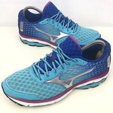 Zapatillas running Mizuno Wave Rider 16 Size UK 7.5 (eu41) en Azul para Mujer