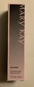 New Mary Kay CC Cream Very Deep Sunscreen Broad Spectrum SPF 15 Exp 8/21